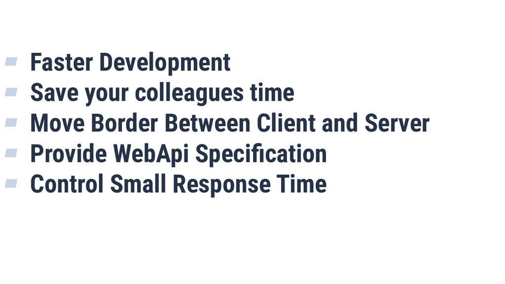 ▰ Faster Development ▰ Save your colleagues tim...