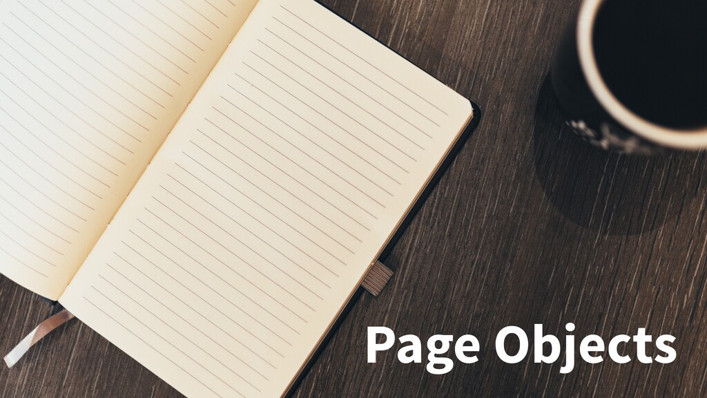 Page Objects