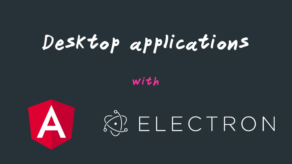 Desktop applications with