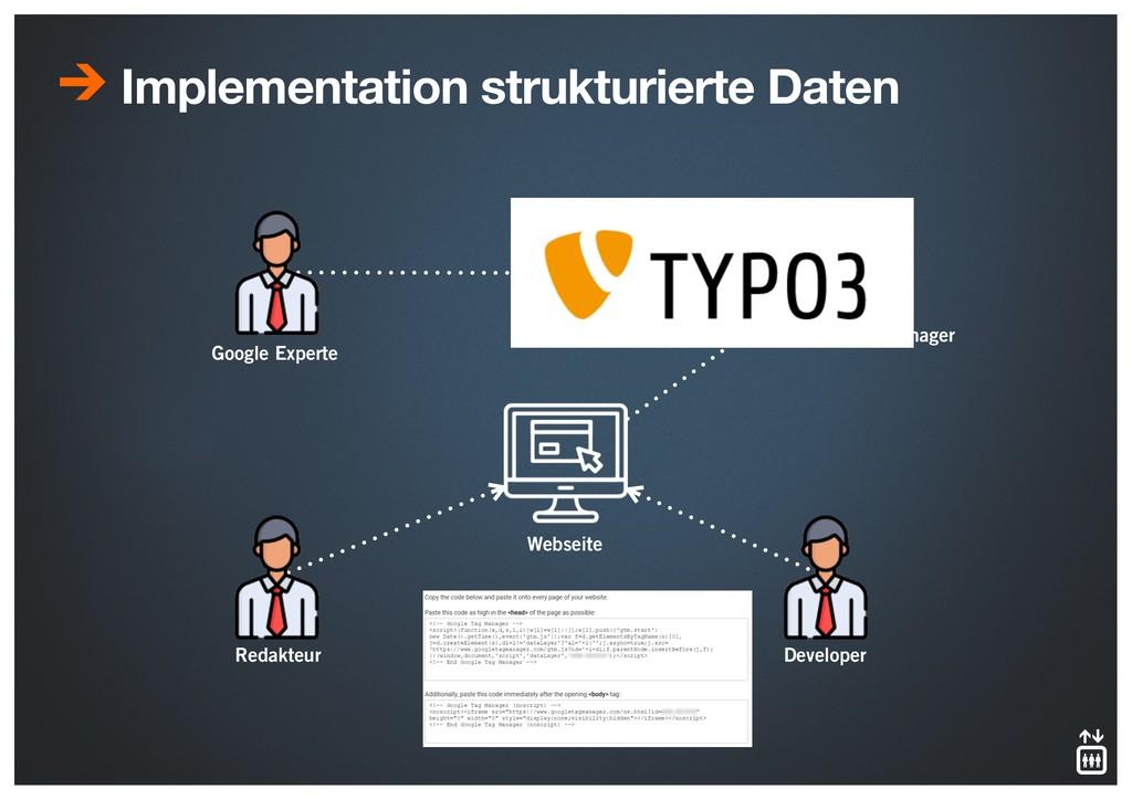 Implementation strukturierte Daten Google Exper...