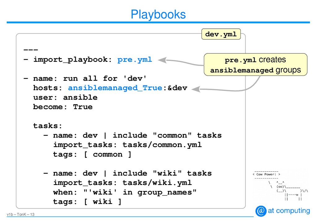 v1b – TonK – 13 Playbooks --- - import_playbook...