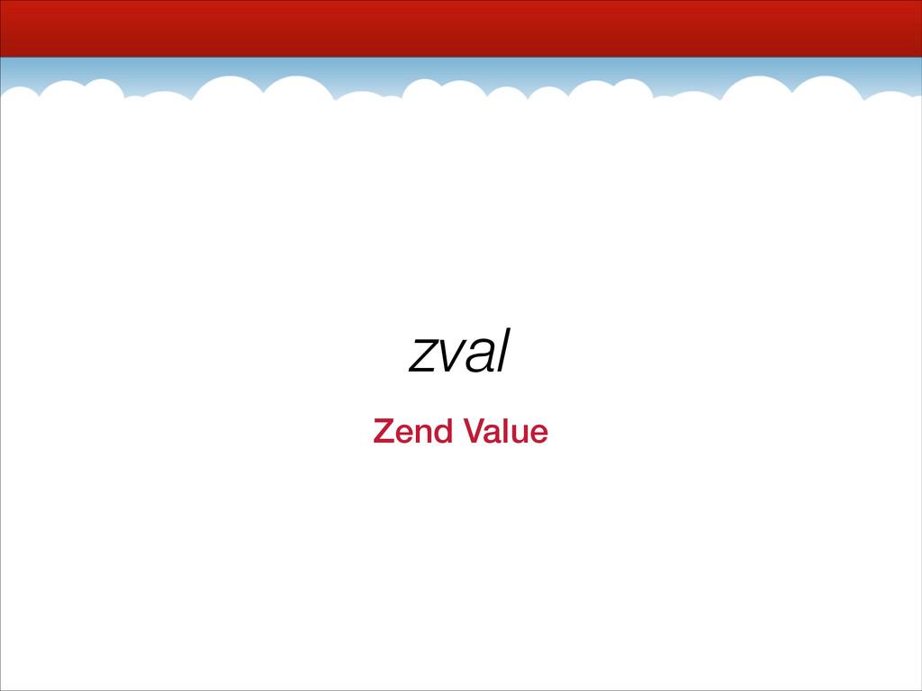 zval Zend Value
