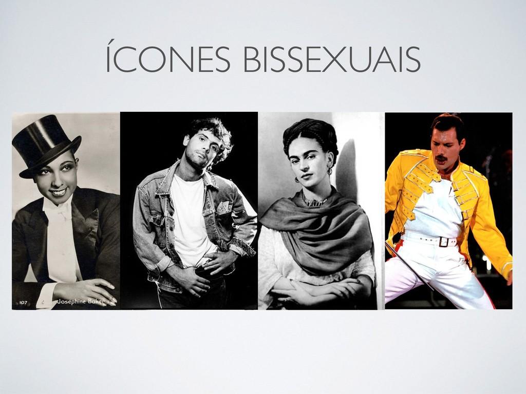 ÍCONES BISSEXUAIS