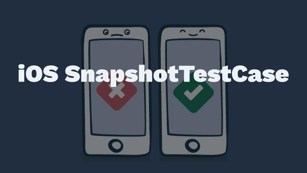 ɹ ɹ iOS SnapshotTestCase