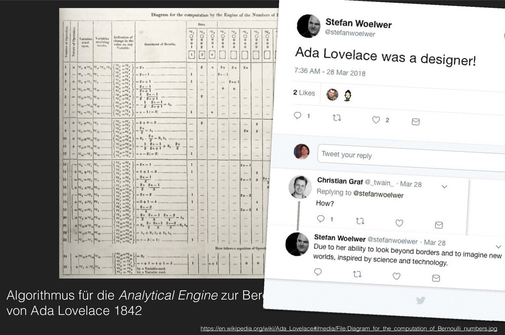 Algorithmus für die Analytical Engine zur Berec...