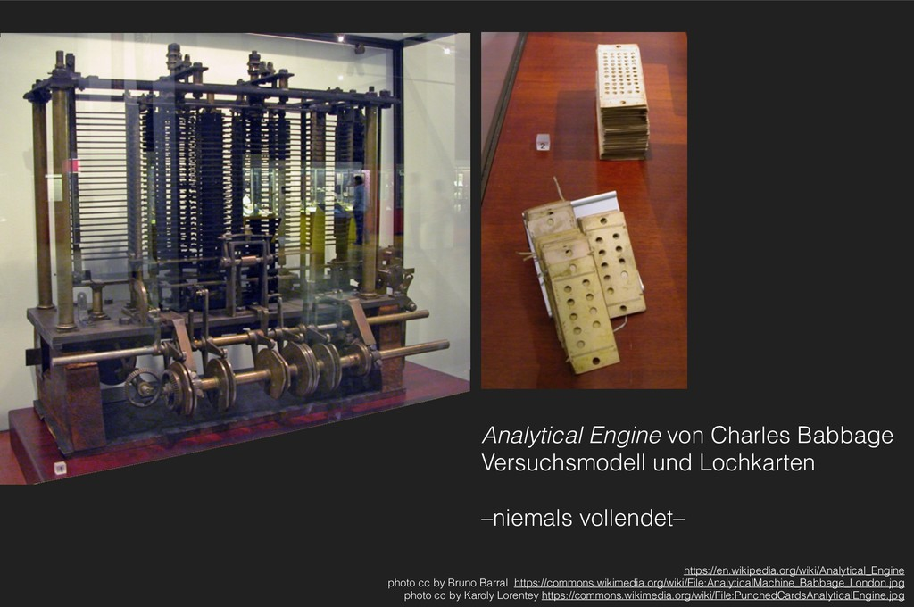 Analytical Engine von Charles Babbage