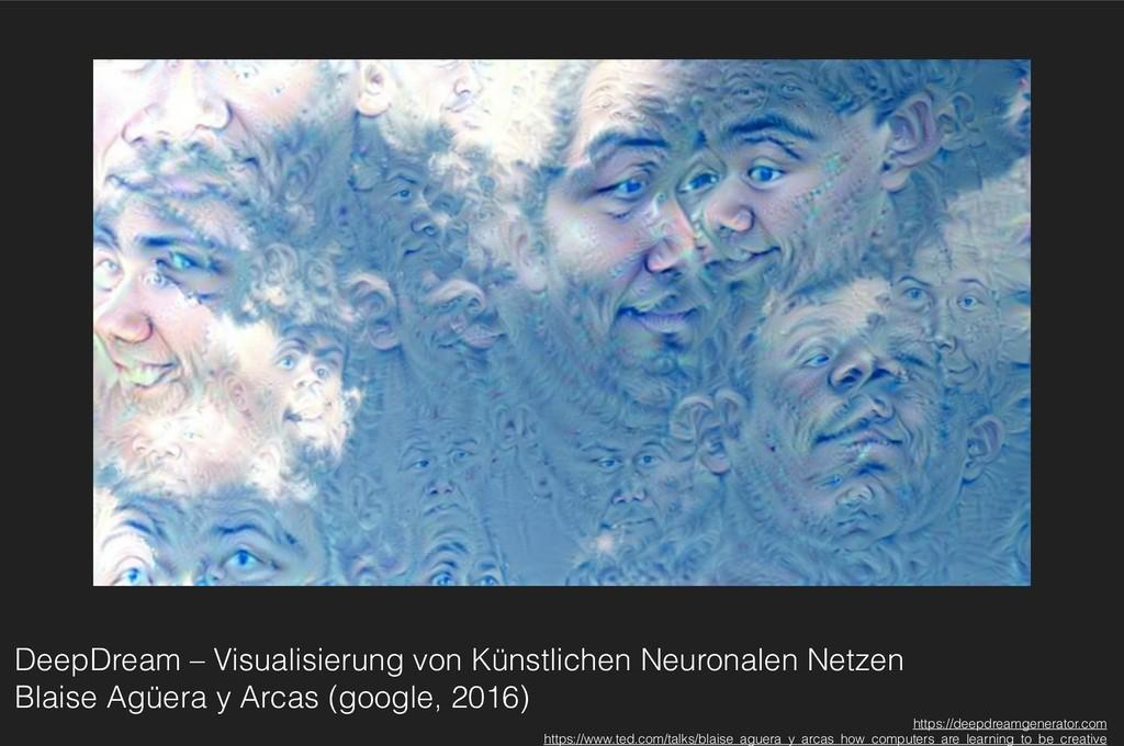 DeepDream – Visualisierung von Künstlichen Neur...