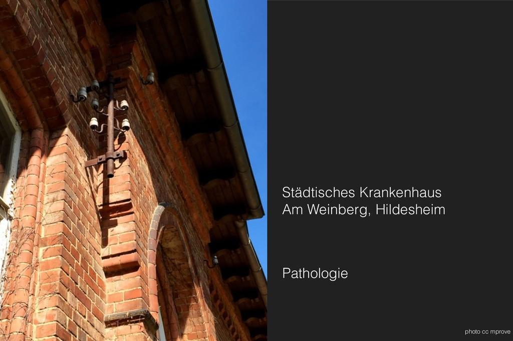 Städtisches Krankenhaus Am Weinberg, Hildeshei...