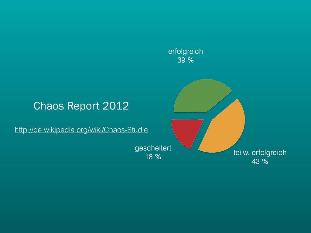 Chaos Report 2012 http://de.wikipedia.org/wiki/...
