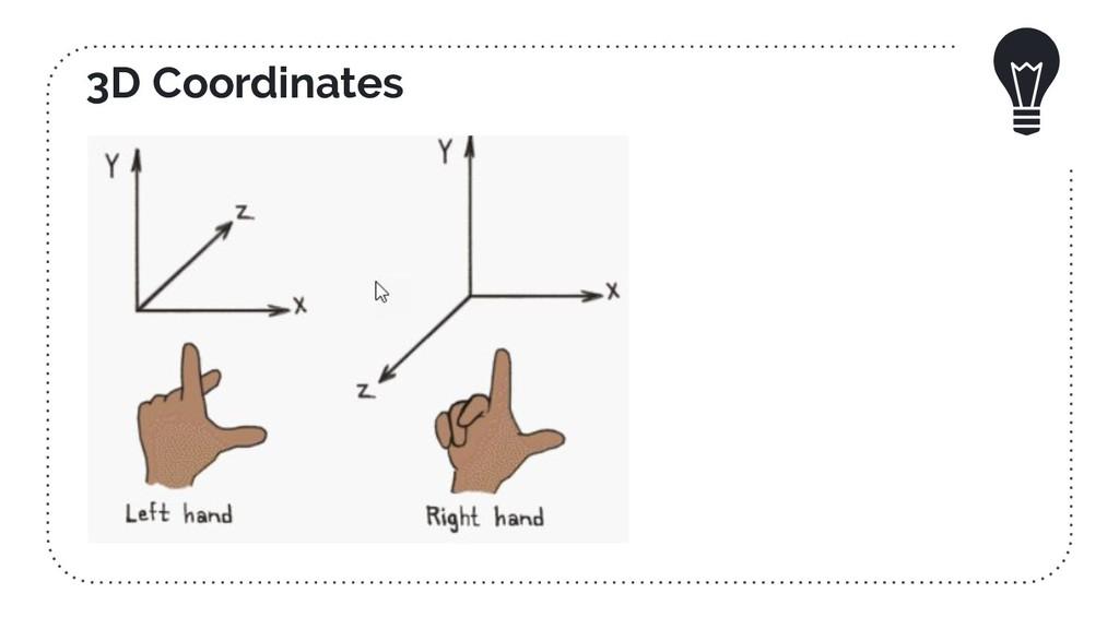3D Coordinates
