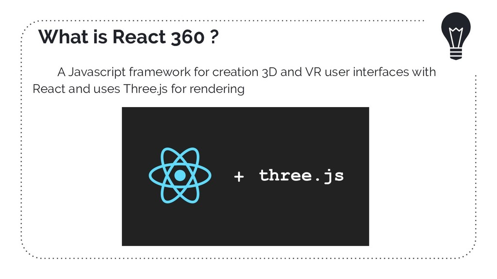 What is React 360 ? A Javascript framework for ...