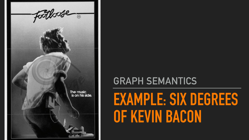 EXAMPLE: SIX DEGREES OF KEVIN BACON GRAPH SEMAN...