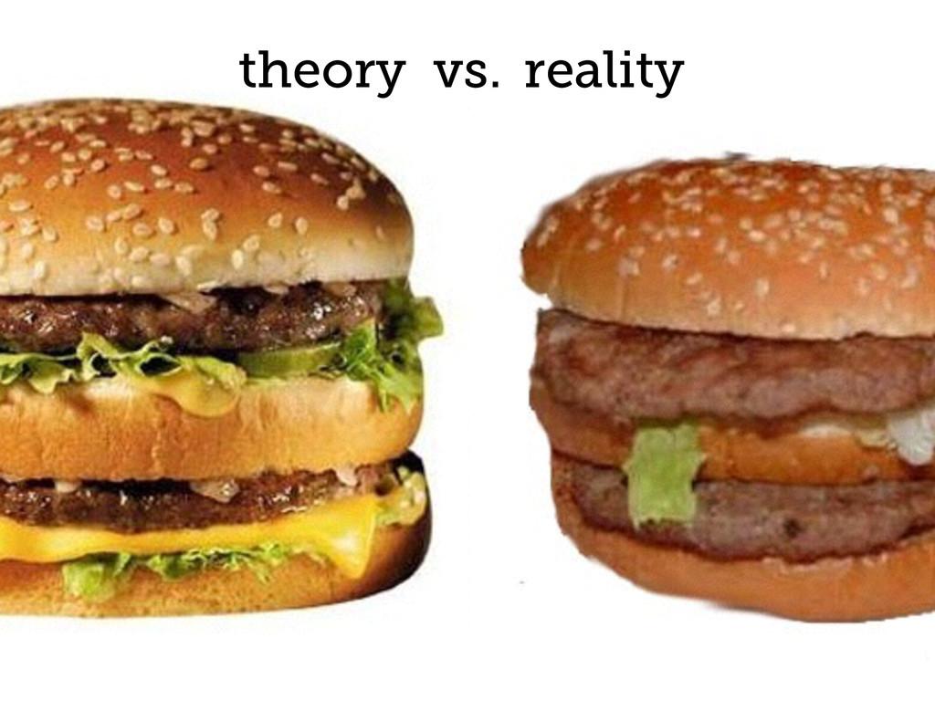 27 theory vs. reality