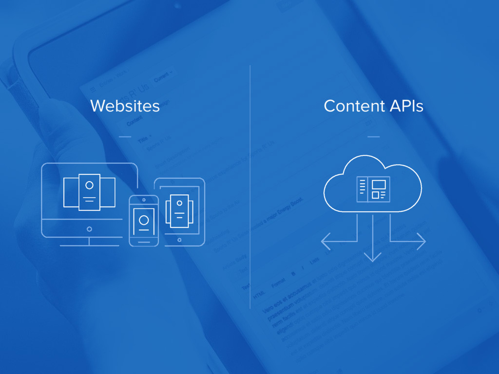 Websites Content APIs