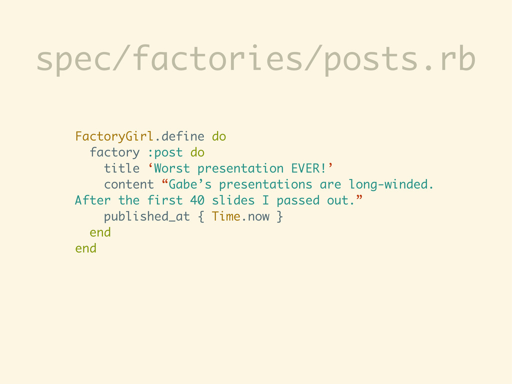 spec/factories/posts.rb FactoryGirl.define do f...