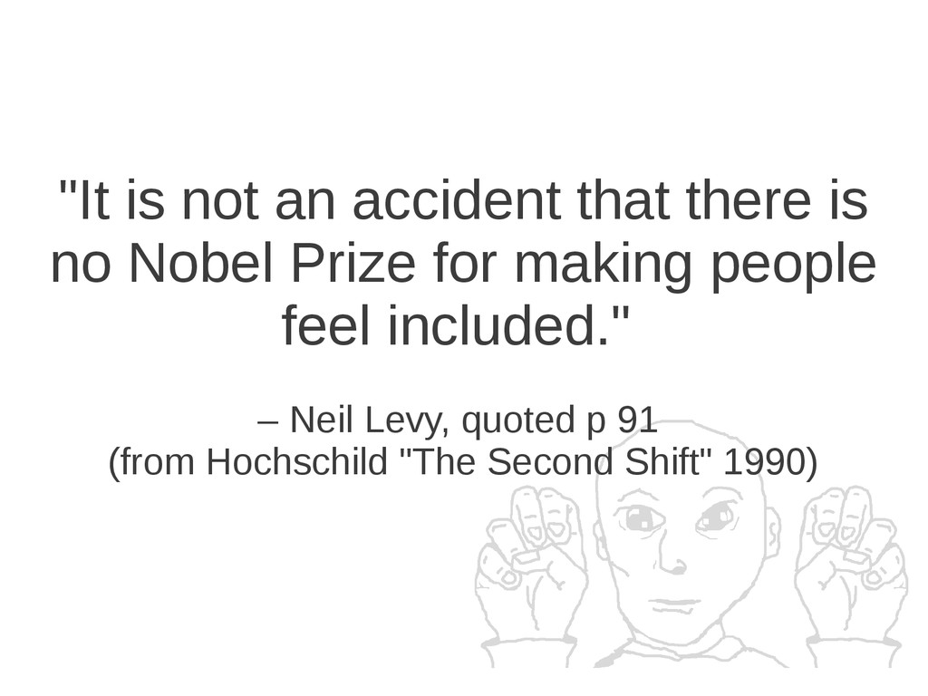 """It is not an accident that there is no Nobel P..."