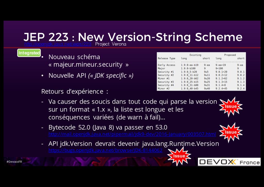 #DevoxxFR JEP 223 : New Version-String Scheme •...