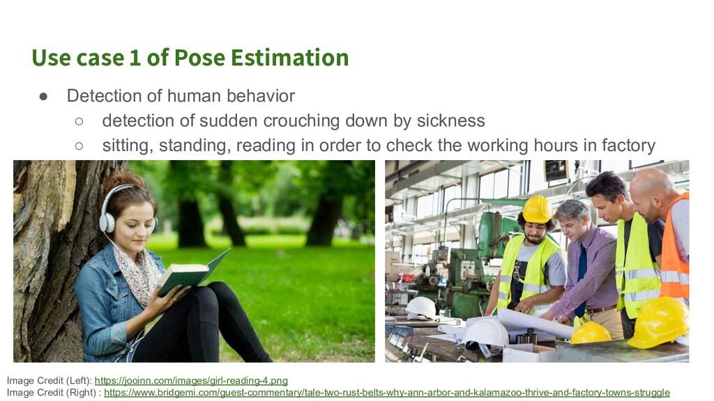 Use case 2 of Pose Estimation ● Sports Analytic...