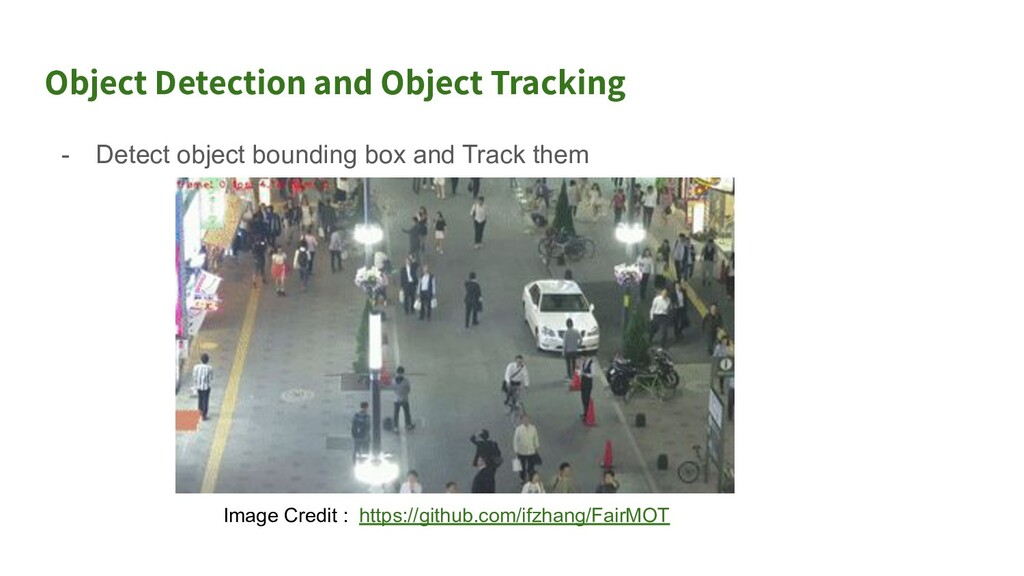 Use Case 1 of Object Tracking and Object Detect...