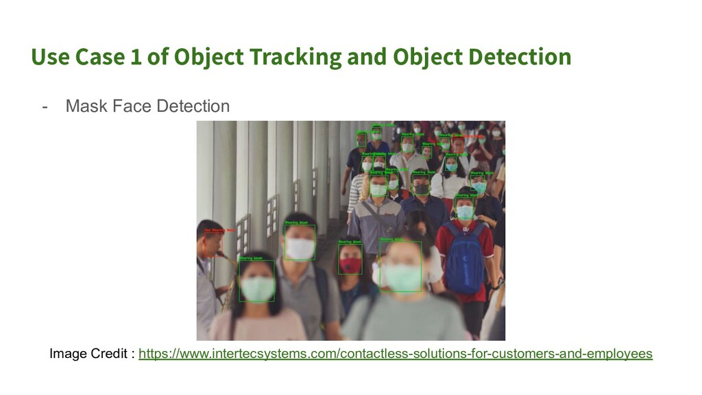 Use Case 2 of Object Tracking and Object Detect...