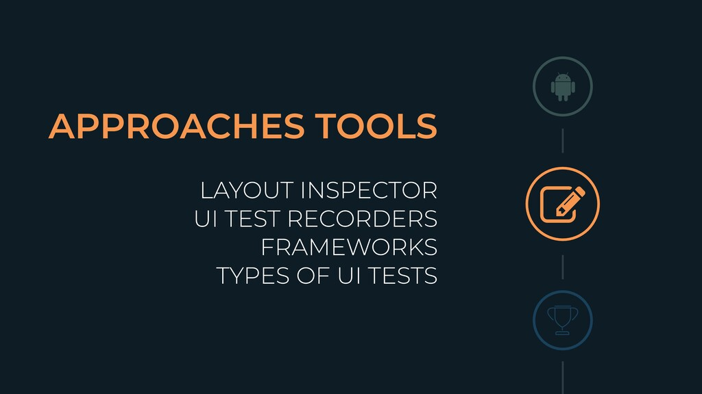 APPROACHES TOOLS LAYOUT INSPECTOR UI TEST RECOR...