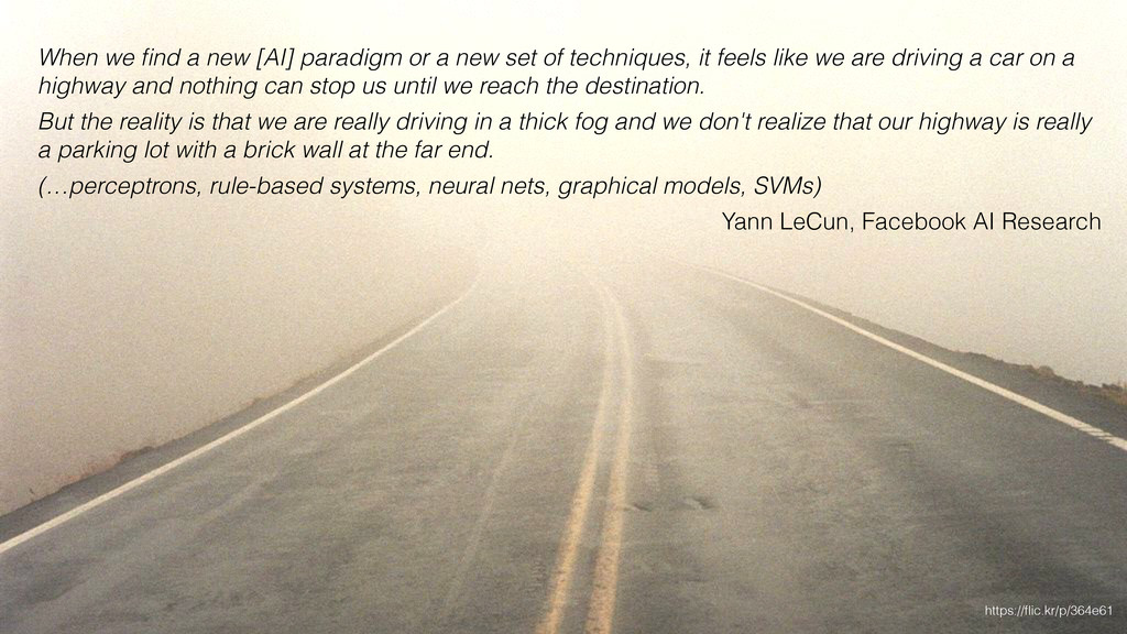 When we find a new [AI] paradigm or a new set of...