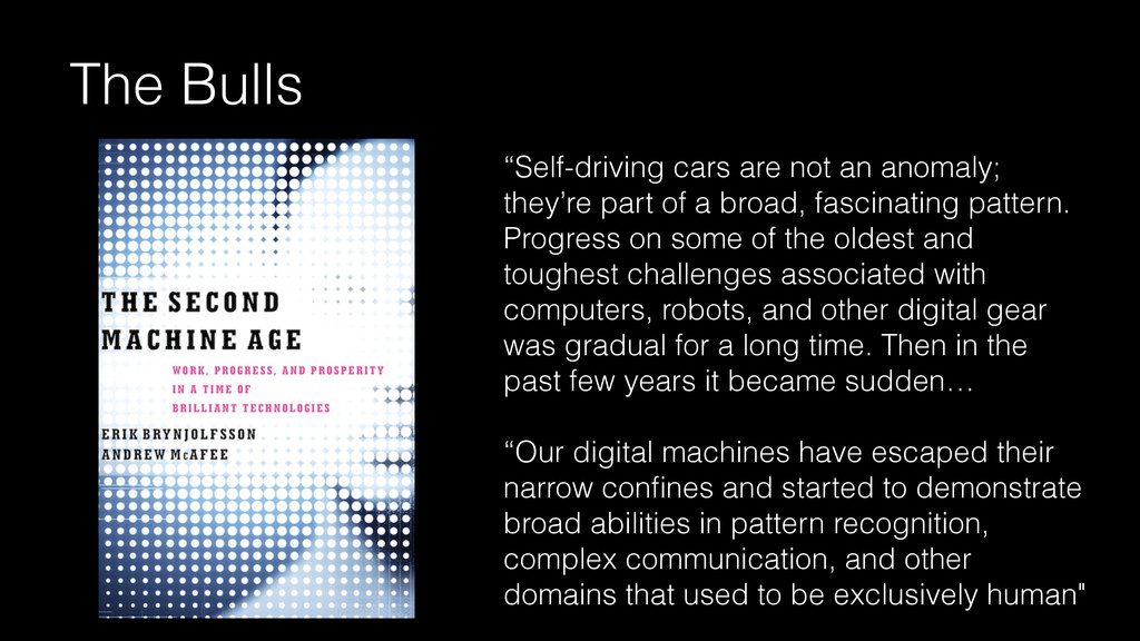 """""""Self-driving cars are not an anomaly; they're ..."""