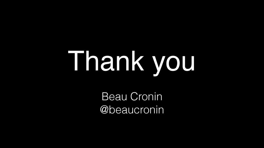 Thank you Beau Cronin @beaucronin