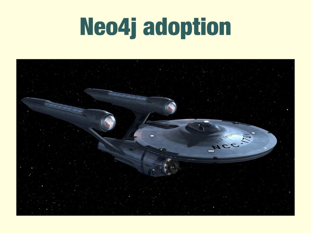 Neo4j adoption