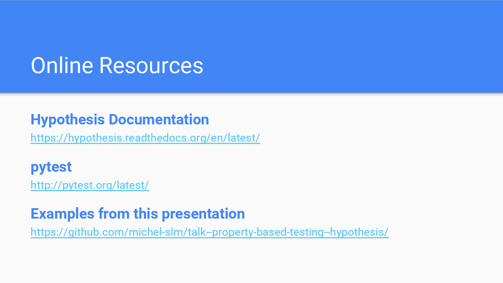 Online Resources Hypothesis Documentation https...