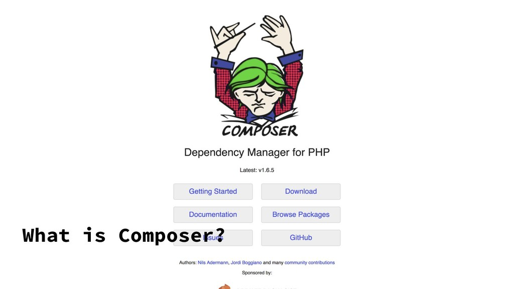 What is Composer?