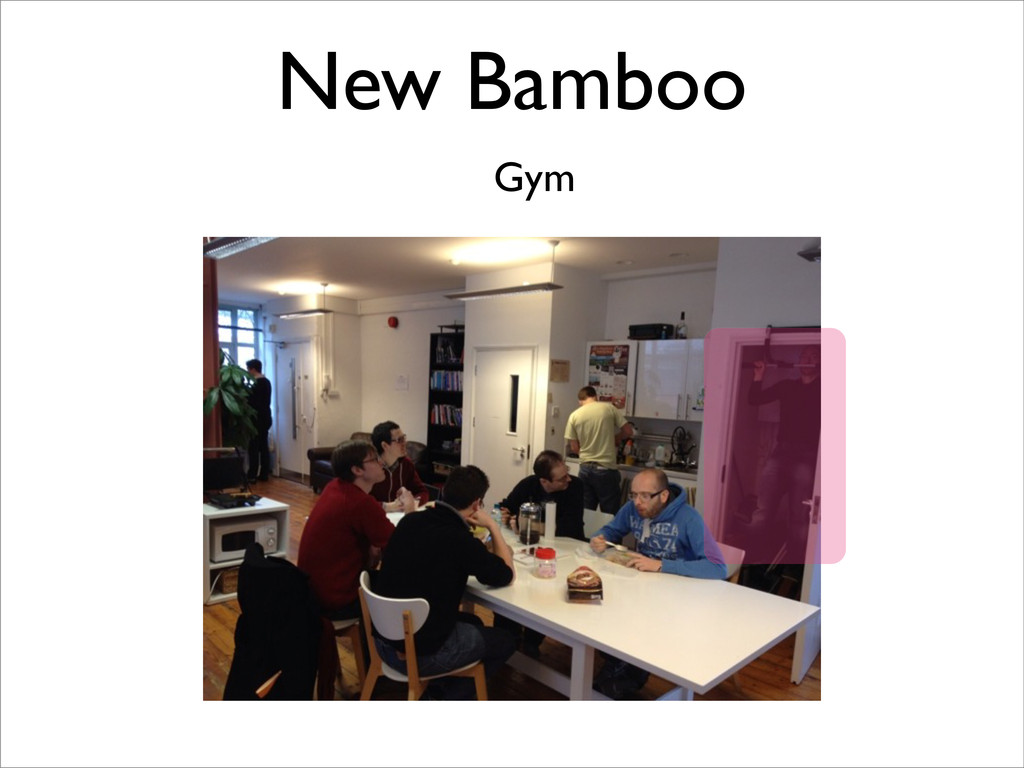 New Bamboo Gym