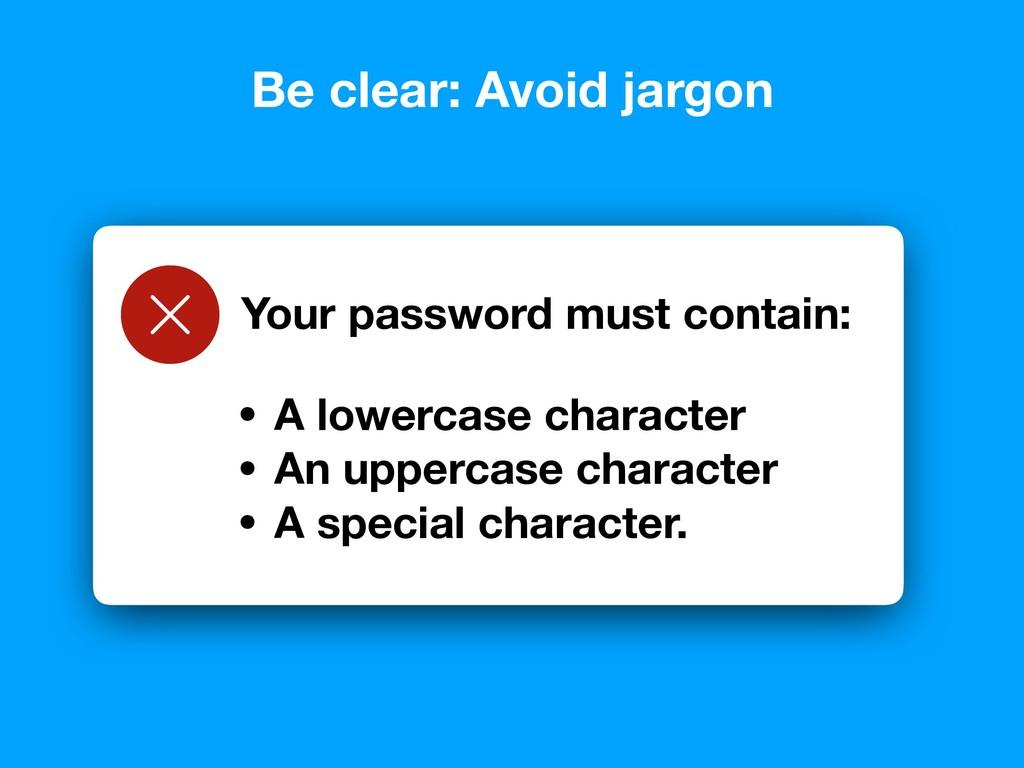 Error: Password was not validated - invalid pas...