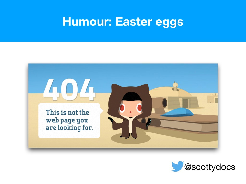 Humour: Easter eggs  @scottydocs