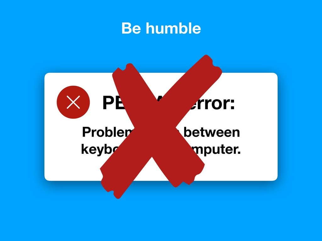 Problem exists between keyboard and computer. P...