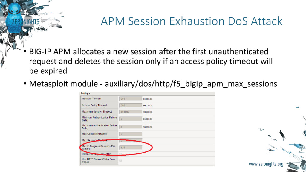 • BIG-IP APM allocates a new session after the ...