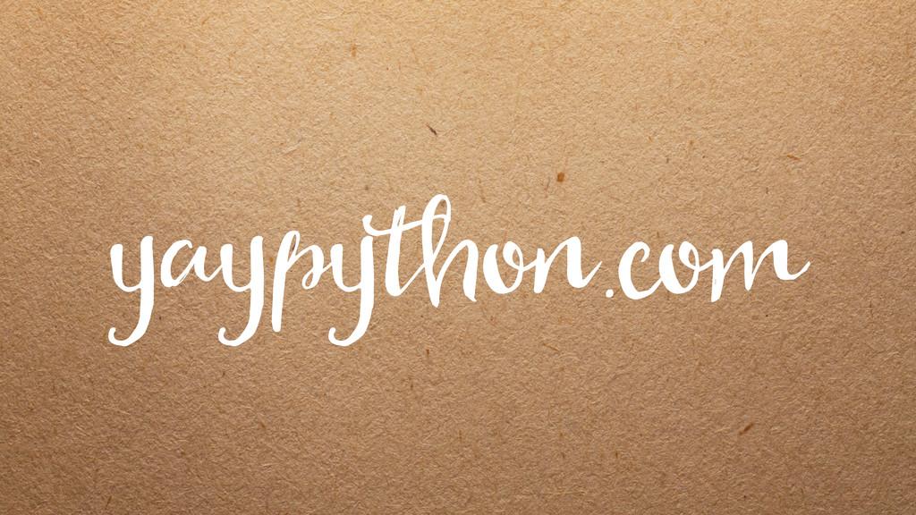 yaypython.com