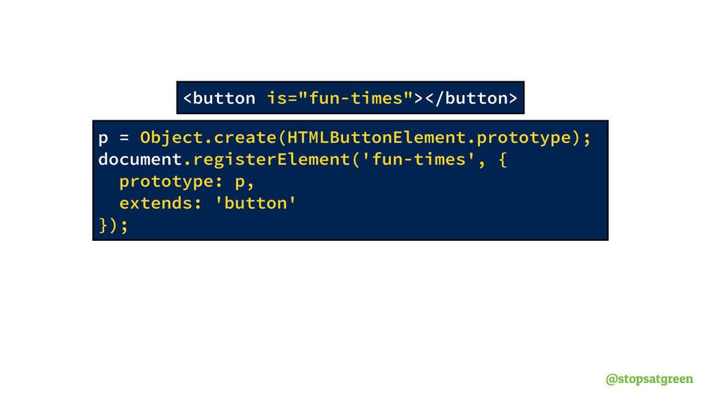 @stopsatgreen p = Object.create(HTMLButtonEleme...