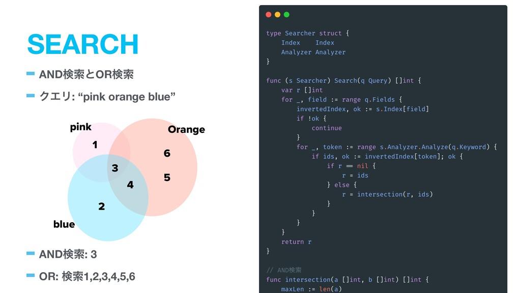 "SEARCH -ANDݕࡧͱORݕࡧ -ΫΤϦ: ""pink orange blue"" -AN..."