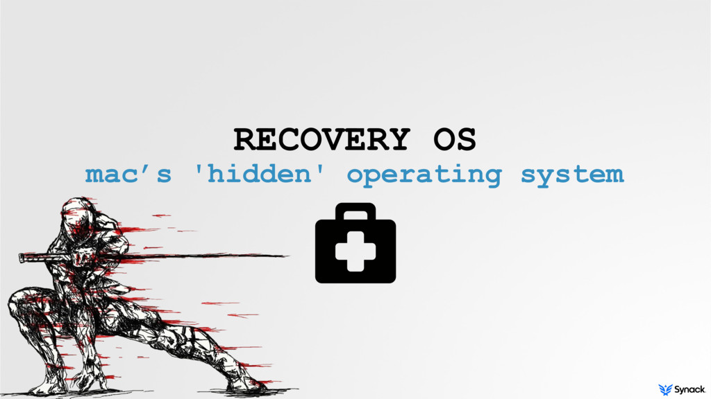 RECOVERY OS mac's 'hidden' operating system