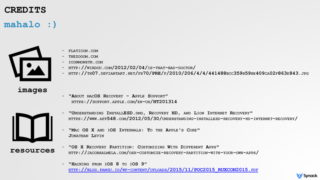 mahalo :) - FLATICON.COM - THEZOOOM.COM - ICONM...