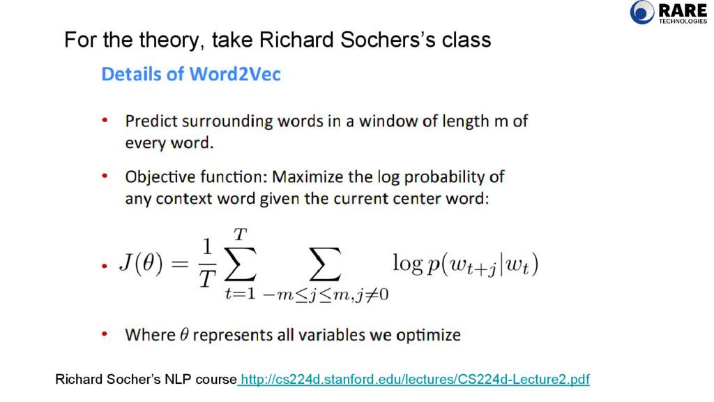 For the theory, take Richard Sochers's class Ri...