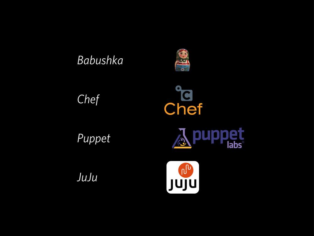 Babushka Chef Puppet JuJu