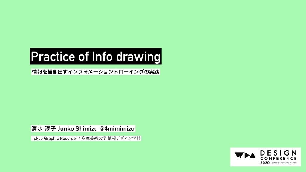 ใΛඳ͖ग़͢ΠϯϑΥϝʔγϣϯυϩʔΠϯάͷ࣮ફ Practice of Info draw...