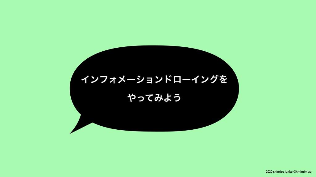 2020 shimizu junko @4mimimizu ΠϯϑΥϝʔγϣϯυϩʔΠϯάΛ ...