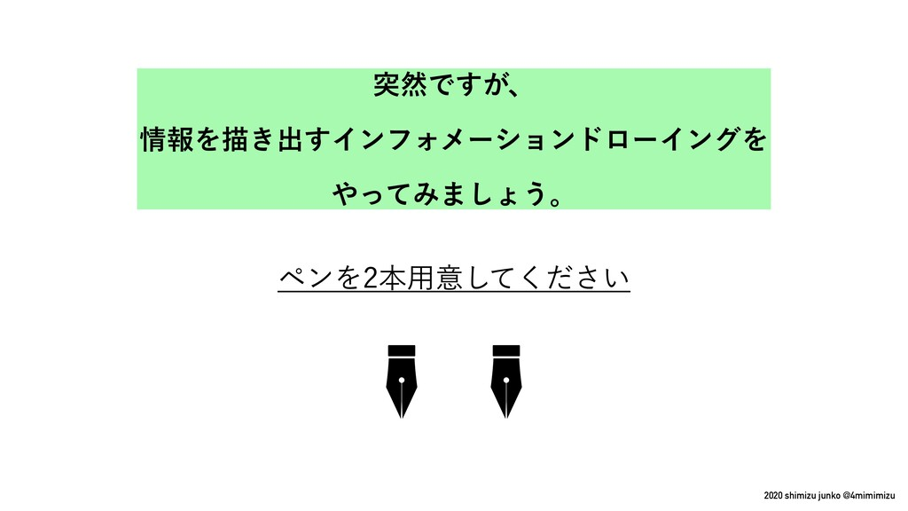 2020 shimizu junko @4mimimizu ϖϯΛຊ༻ҙ͍ͯͩ͘͠͞ ಥવͰ...
