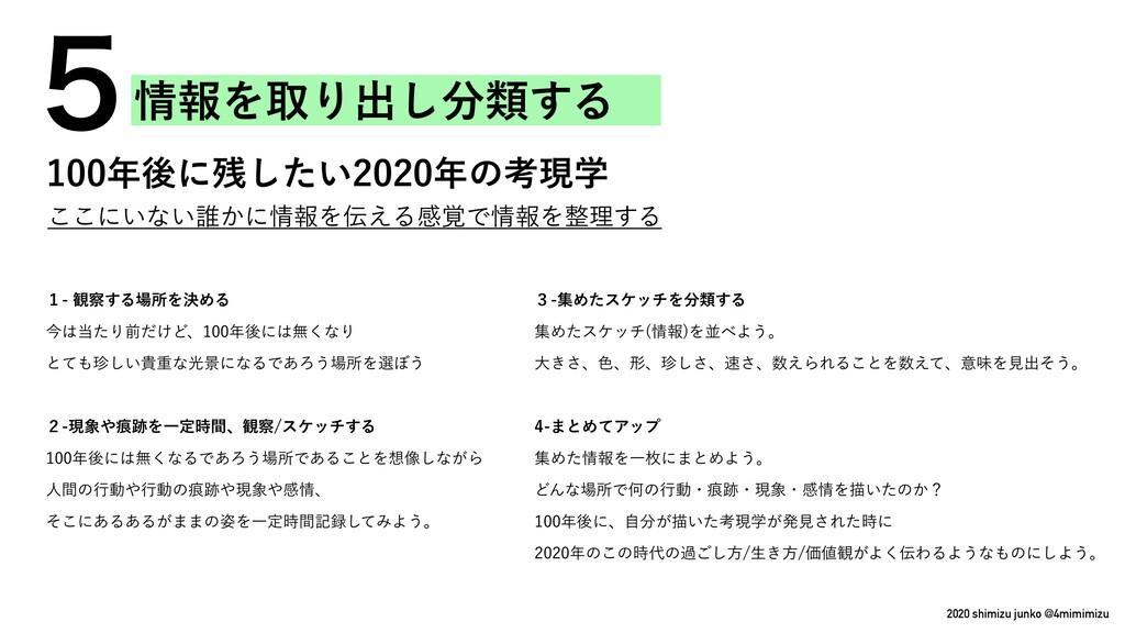 2020 shimizu junko @4mimimizu ͜͜ʹ͍ͳ͍୭͔ʹใΛ͑Δײ֮...