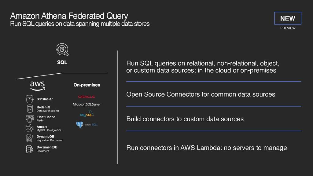 Amazon Athena Federated Query Run SQL queries ...