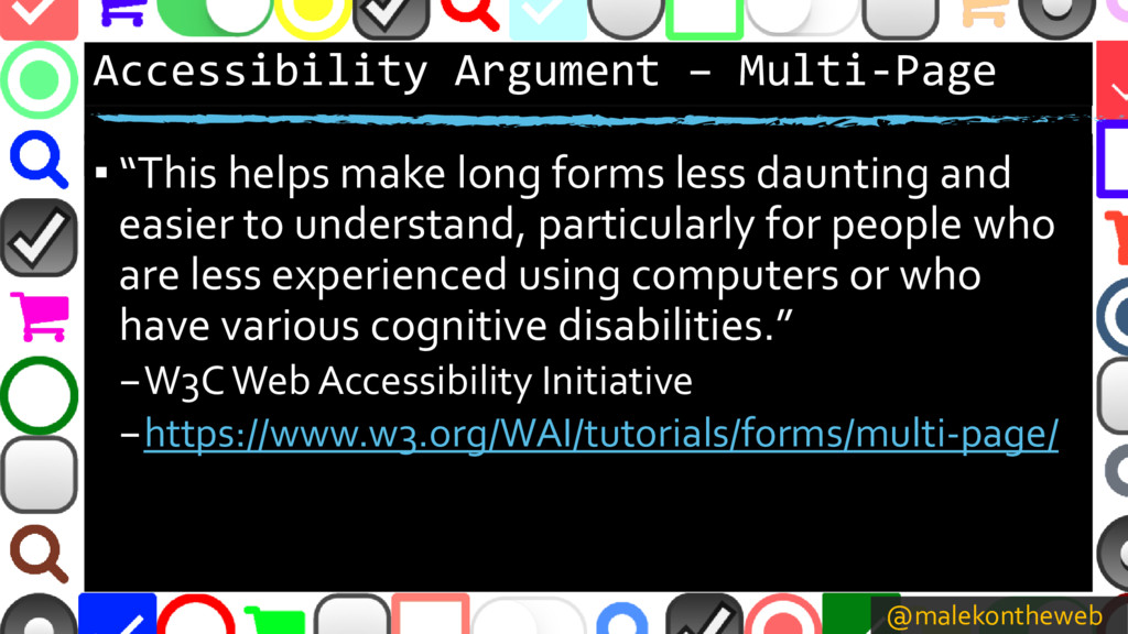 @malekontheweb Accessibility Argument – Multi-P...